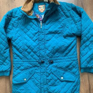 L.L. Bean Jackets & Coats - LL Bean Quilted Jacket Small Teal